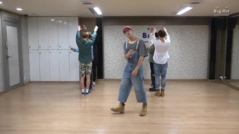 [CHOREOGRAPHY] BTS (방탄소년단) 좋아요 Part 2 Dance Practice