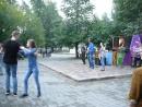 Кросс степ вальс на закрытии шестого сезона танцев на свежем воздухе