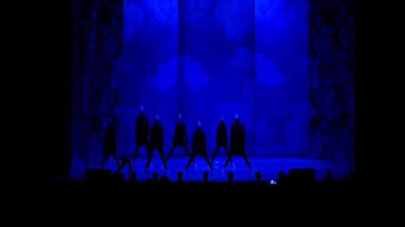Танцевальный коллектив Второе дыхание - Люди в черном