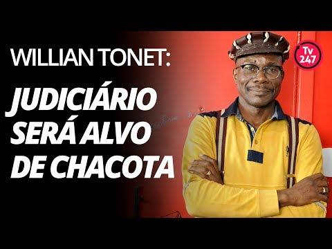 Willian Tonet: Judiciário brasileiro será alvo de chacota
