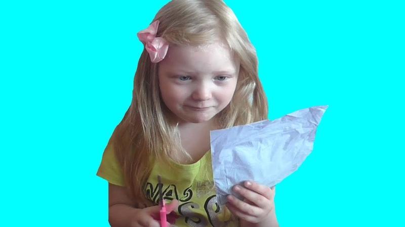 VLOG. Моя первая посылка из Китая. Видео для детей. Video for kids. Ежедневные влоги.