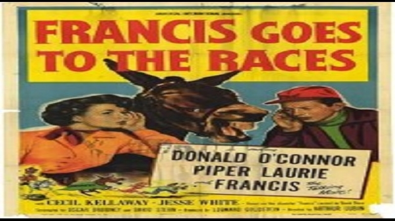 1951 Francis Alle Corse - Arthur Lubin- Donald OConnor, Piper Laurie, Cecil Kellaway, Jesse White, Barry Kelley