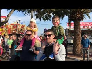 Карнавал на Тенерифе 2018 - платформа Chafiras