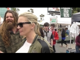 Natasha Henstridge talks about Species and if their are Aliens living on Earth while shopping at the