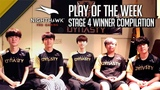 OWL Stage 4 Winner Compilation Nighthawk Pro Gaming Play of the Week Seoul Dynasty