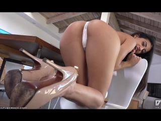 Veronica Rodriguez inthecrack Hot Sexy Brunette Babe Ass Tits Legs Nude Секси Девушка Снимает Платье Упругая Попка Сиськи Анал