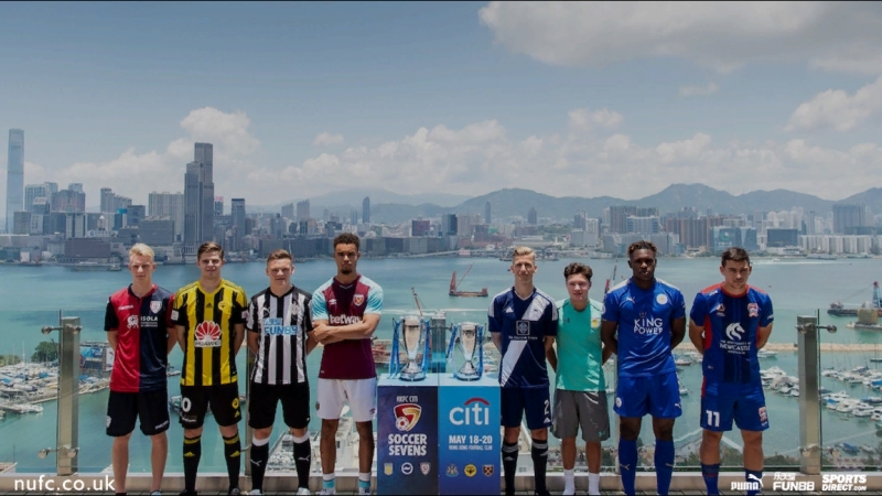 Newcastle United Under-23's have won the @hksoccer7s tournament beating Rangers 1-0 in sudden death. NUFC