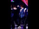 UNB - Feeling (Official Fancam Jun Focus - Music Core ) 14.04.18