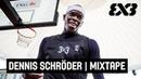 Dennis Schröder hits the 3x3 court Mixtape ING 3x3 German Championship 2018