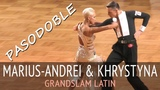 Marius-Andrei Balan & Khrystyna Moshenska | Пасодобль | GOC2018 GrandSlam LATIN - Четверьфинал