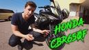 Мотоцикл для НОВИЧКА и НАДОЛГО Обзор и ТестДрайв Honda CBR650F