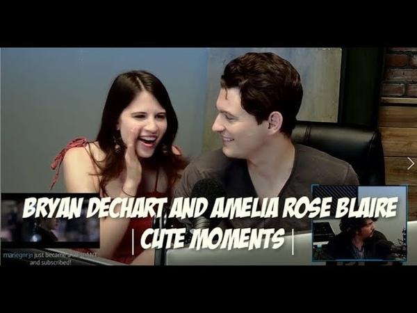 Bryan Dechart Amelia Rose Blaire   Cute Moments