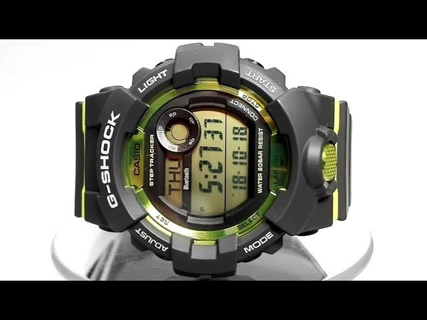 Casio G-Shock GBD-800-8ER Bluetooth watch video 2018