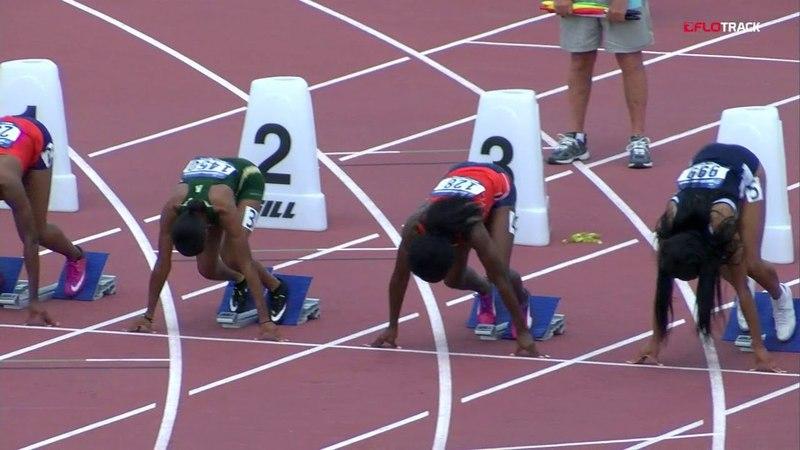 Womens 100-meter 1st Round | NCAA East Prelim