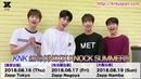 KNK 初の東名阪Zeppツアーが8月に開催決定! <KNK 2018 KNOCK KNOCK SUMMER >