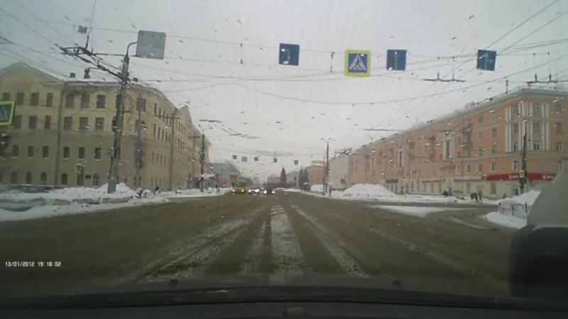 Иваново. Пл.Ленина 18.02.2018 15-14