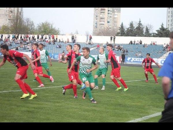 FC Zaria - FC Zimbru 1:1   Rezumatul meciului (14 aprilie 2018)
