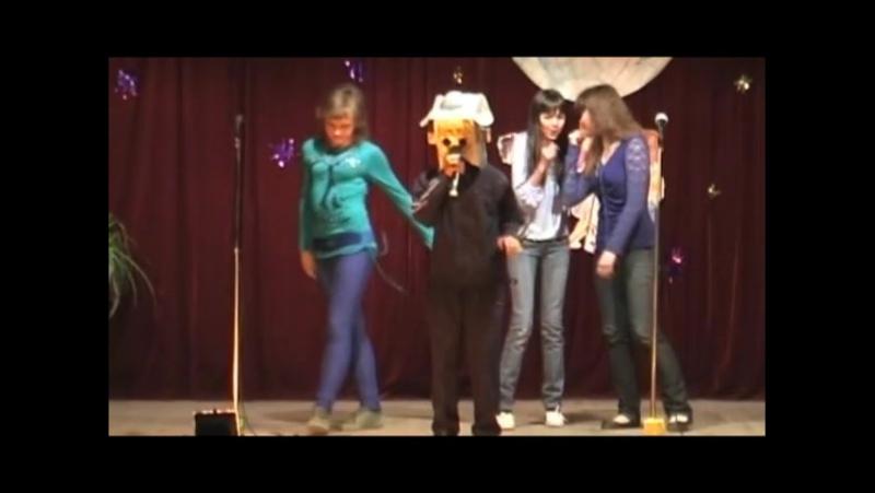 Анжелика, Динара, Женя - Робот на дискотеке