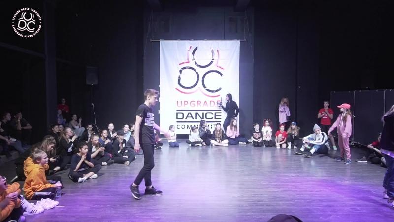 UpGrade Competition 2 (Freestyle Battle)1/4 Демидов Глеб VC Громова Лия