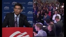 Dinesh D'Souza delivers an Amazing speech Gets Standing Ovation