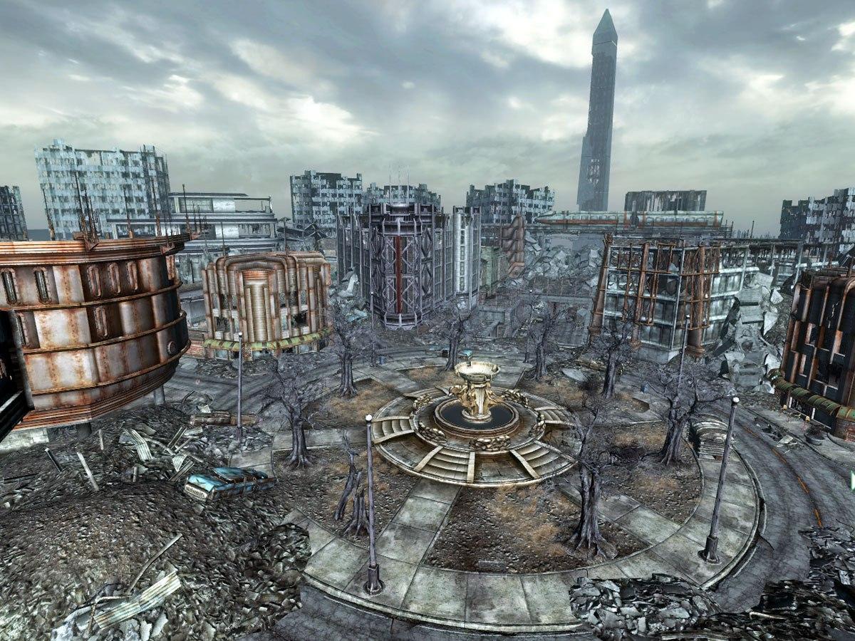 Сравнение Fallout 3