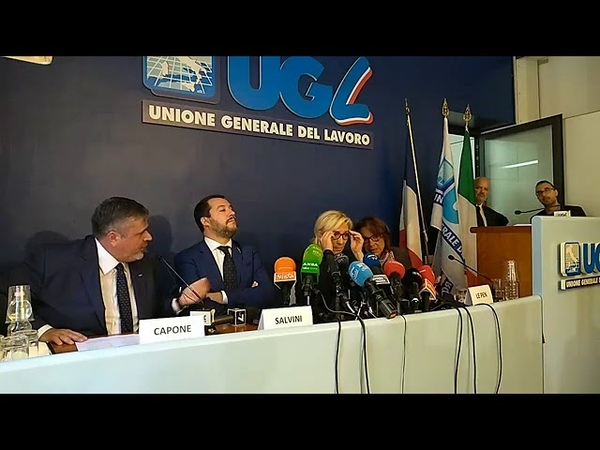 Salvini con Le Pen: 'Contro Juncker-Moscovici che sono nemici Ue'