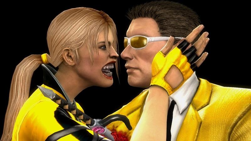 Mortal Kombat Komplete Mods Sonya Johnny Cage Gold Costumes