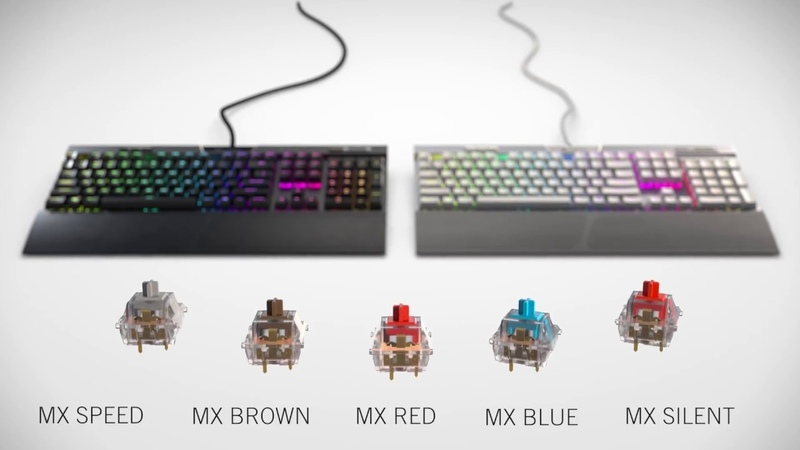 CORSAIR K70 RGB MK 2 MECHANICAL GAMING KEYBOARD PICK YOUR SWITCH TAKE ON THE WORLD