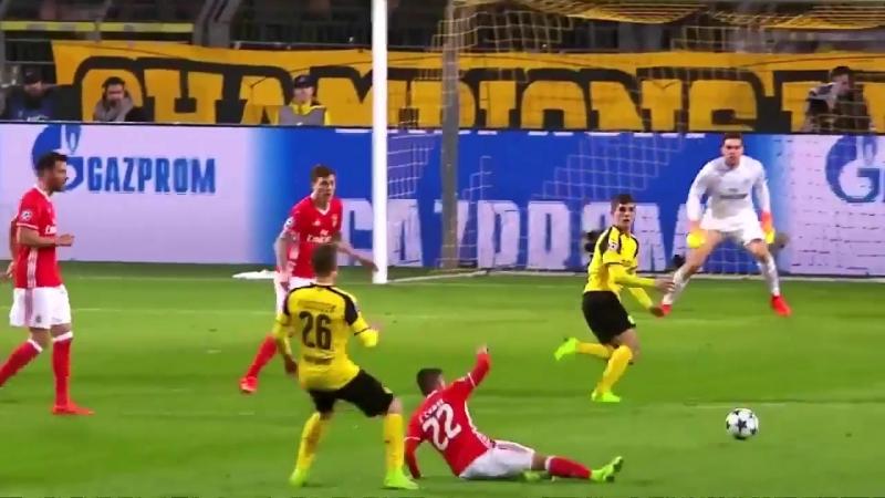 Топ-3 гола дортмундской «Боруссии» в раундах ⅛ финалов еврокубков