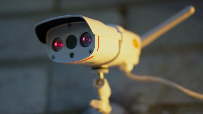 VStarcam 1080P WiFi Outdoor Security Camera wIR Night Vision IP67 Weather Proof