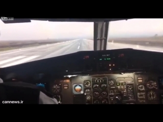 EAGLE VS AIRPLANE - BIRD STRIKE ON WINDSHIELD_HD.mp4