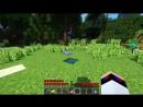 Жители поймали Вампира Девушку Майнкрафт ПЕ выживание моды видео игра мультик для детей Minecraft PE