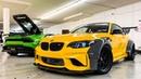 ALEX CHOI'S BMW M2 WIDEBODY DRIFT BUILD! *UPGRADED TURBOS 600 HP*