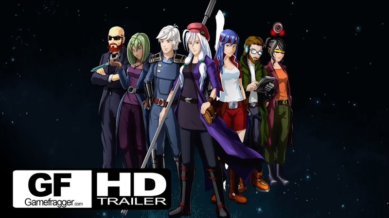 Cosmic Star Heroine Nintendo Switch Trailer