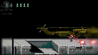 [Famiclone-50HZ]Super Contra - Gameplay