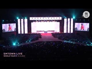 The story of SMTOWN LIVE WORLD TOUR VI in DUBAI