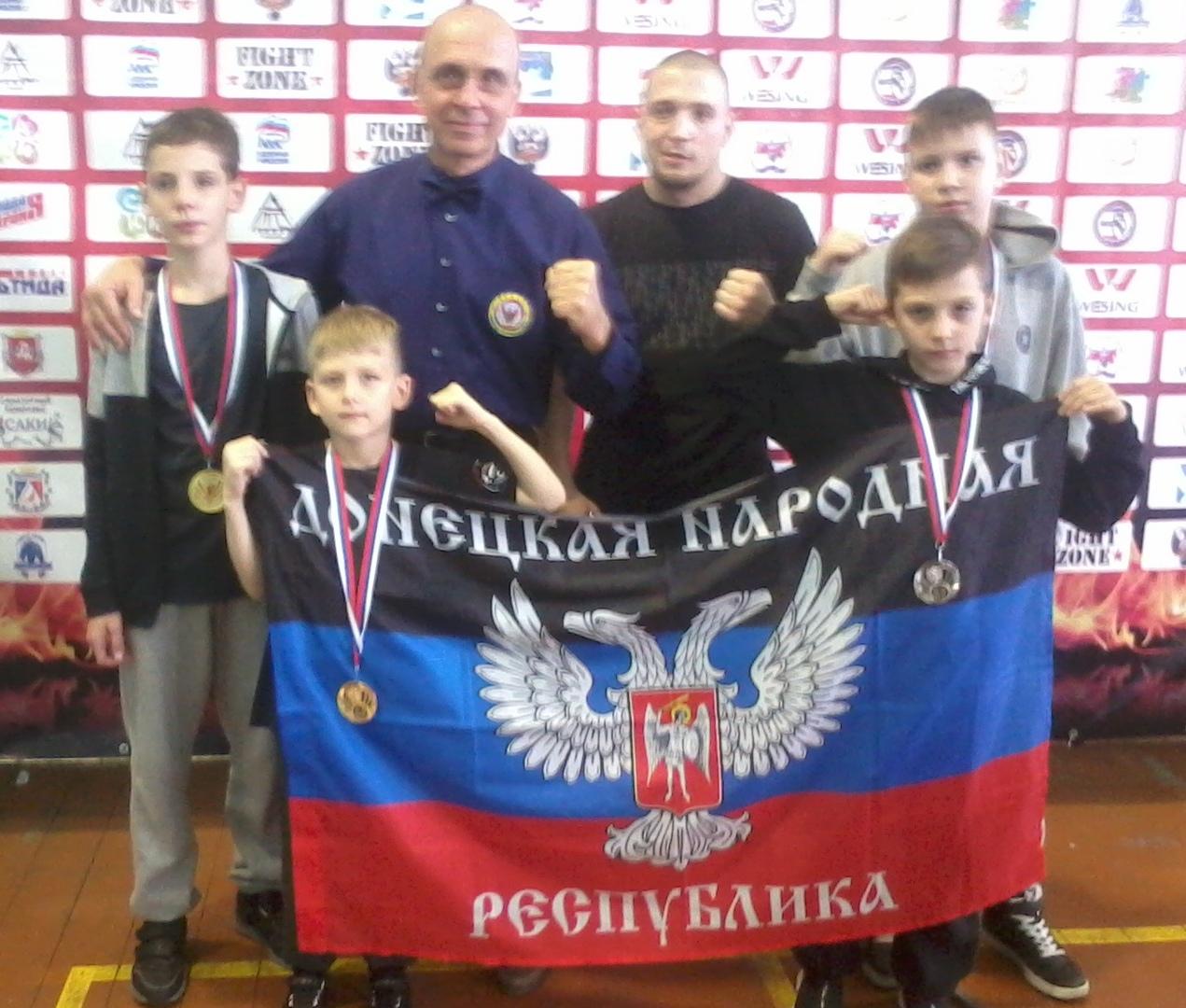 Спортсмены города Донецка – победители и призёры чемпионата и первенства Республики Крым по тайскому боксу