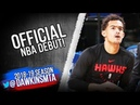Trae Young Official NBA DEBUT 2018.10.17 Hawks vs Knicks - 14 Pts, 5 Asts! | FreeDawkins