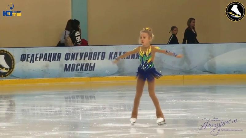 Maria Krasnozenova SP - На призы сети магазинов «Фигурист» 2018