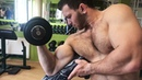 BIGGEST YOUNG BICEPS IN THE WORLD! INSANE GYM TRAINING AND FLEXING SHOW