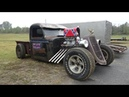 Rust Rebellion Lee Tynes Rat Rod Truck Freestyle Burnout Contest