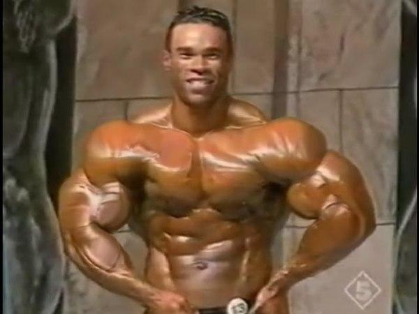 Kevin Levrone in Russia 1995 Posing RARE VIDEO