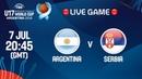 LIVE 🔴- Argentina v Serbia - FIBA U17 Basketball World Cup 2018