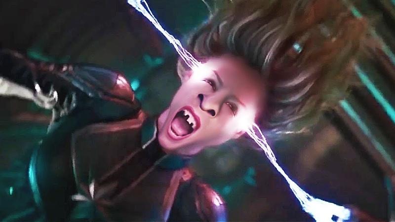 Визуальный ремикс 2 (трейлер 2 Капитан Марвел - Воспоминания сумасшедшей ) visual Remix