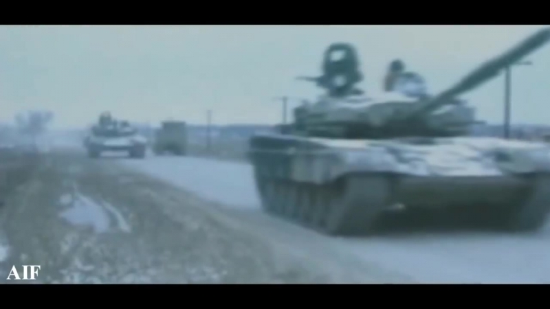 (слайд 6) Первая Чеченская Война (1994 - 1996) - First Chechen War (1994 - 1996)