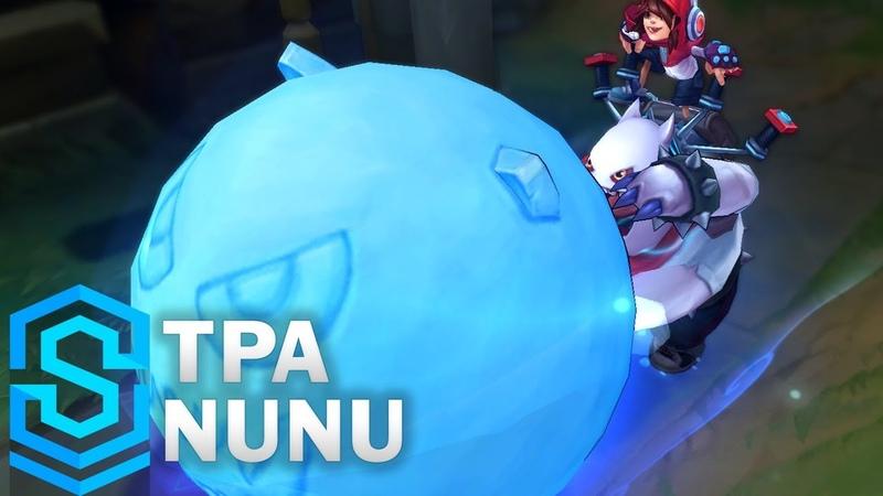 TPA Nunu 2018 Skin Spotlight - Pre-Release - League of Legends
