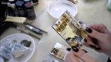 Фацетный лак в микс медиа декоре фактурных АТСок видео урок Жанны Балагур