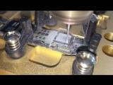 Спиливание модема на ЧПУ станке на iPhone 5s
