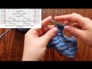 «Сложная коса» спицами на 24х петлях - How to Knit the 24 Stitch Cable
