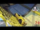 ч.41 НАПАДЕНИЕ НА ВОЕННУЮ БАЗУ! СПИРАЛЬНЫЕ ГОНКИ! - Один день из жизни в GTA 5 Online